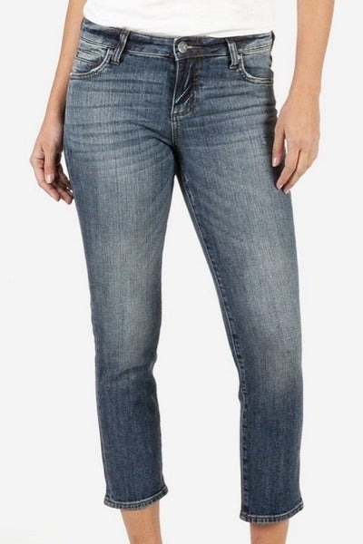 Catherine Ankle Straight Leg Jean