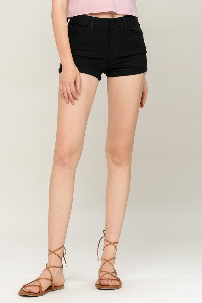 Holly Mid Rise Shorts