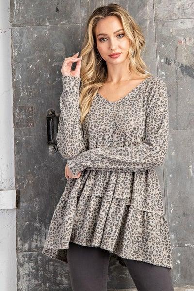 Leopard Tunic Top *Final Sale*