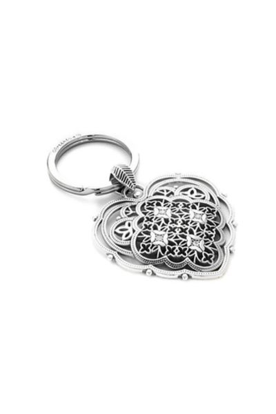 Bella Roma Heart Key Fob