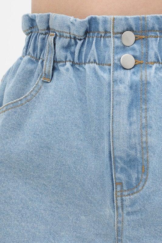 The Cool Mom Denim Shorts *Final Sale*