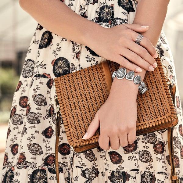 Odette Flap Handbag