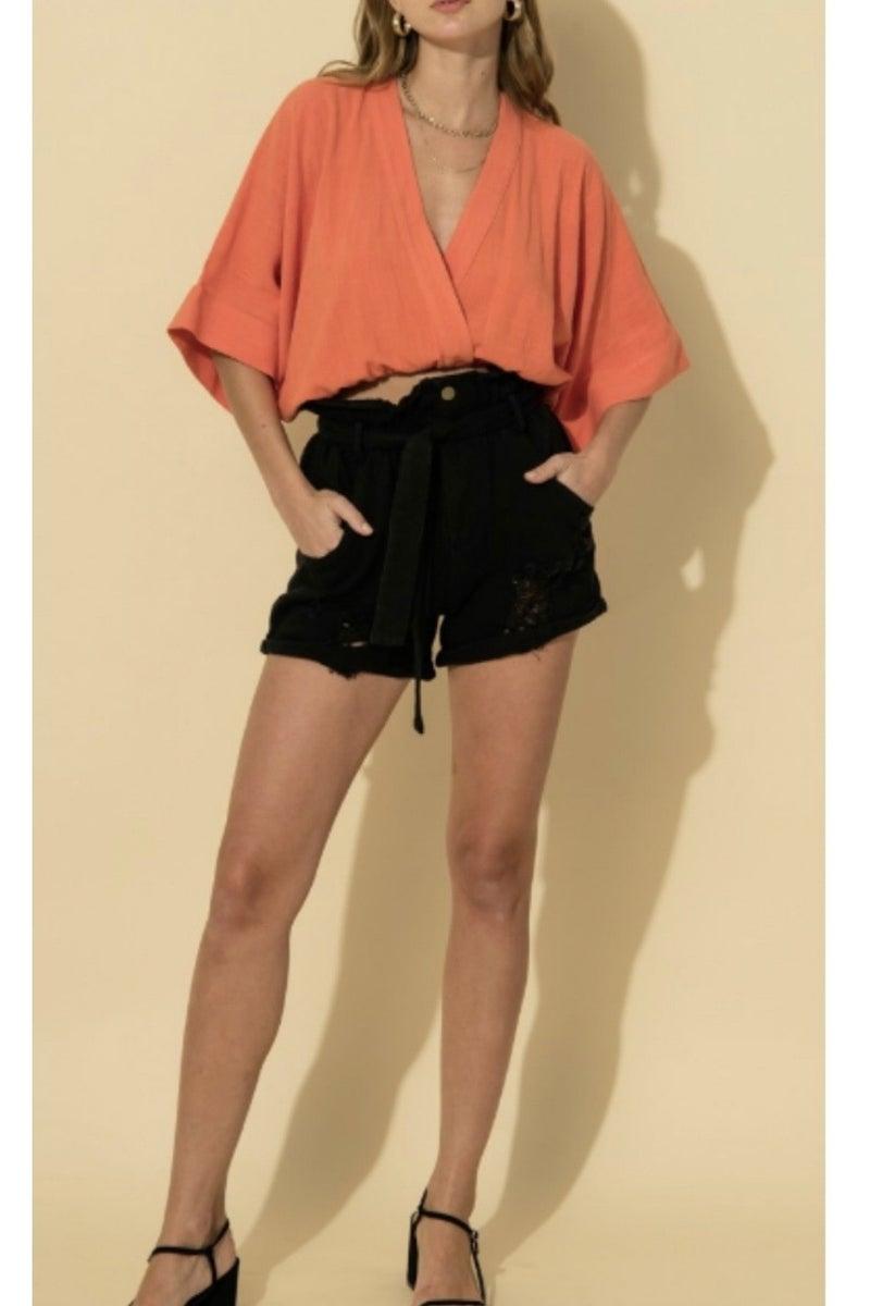Paperbag Shorts *Final Sale*