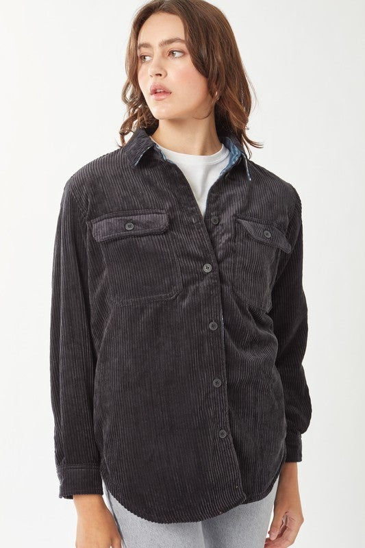 Wide Open Spaces Reversible Shirt/Jacket *Final Sale*