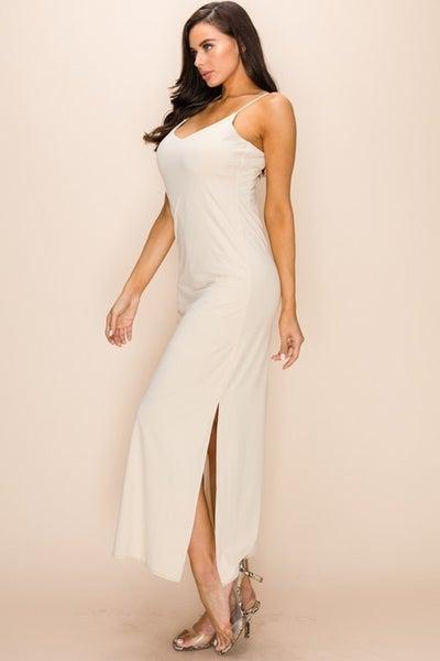 Cami Maxi Slip Dress