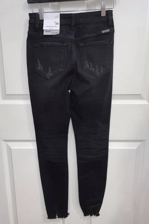 Be Right Black 5 Button Denim Jeans