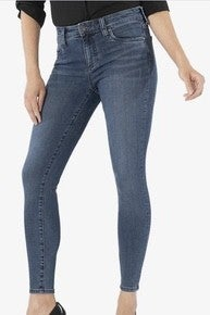 Connie Ankle Skinny Dark Wash