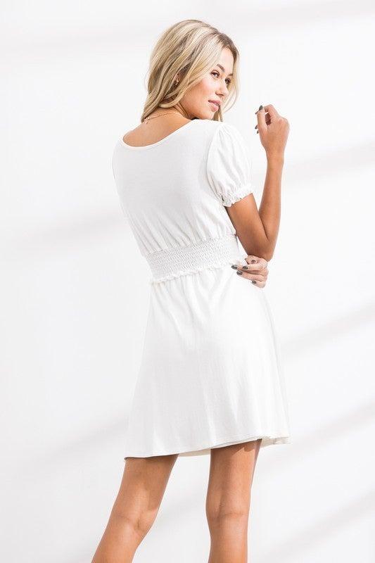 Blank Spaces Dress *Final Sale*