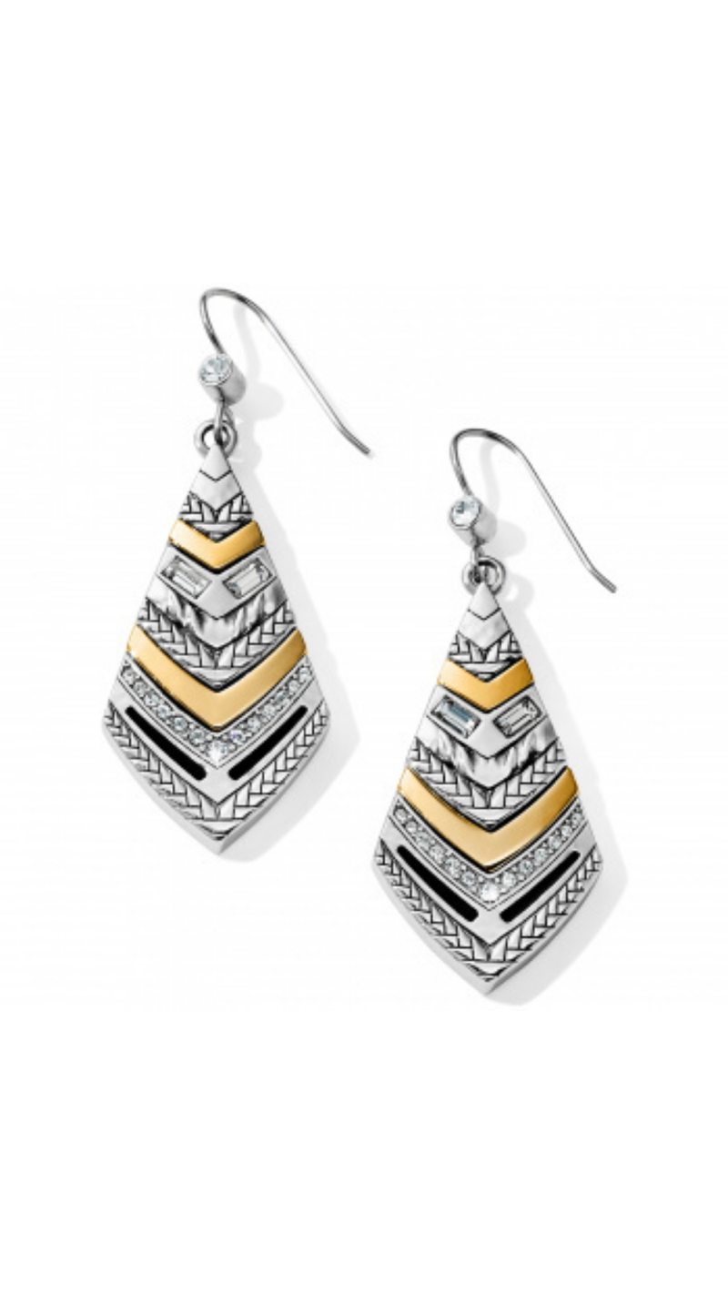 Tapestry Kite French Wire Earrings