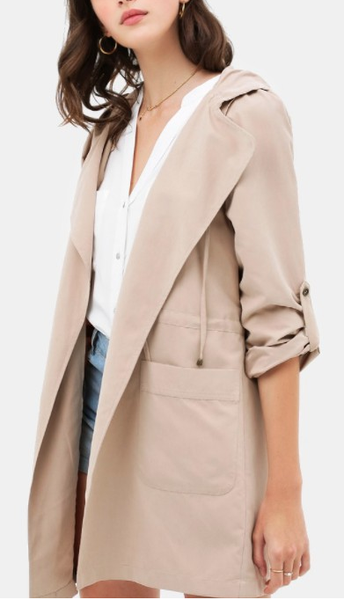 Don't Get Drenched Trench Coat (Color Options Available)