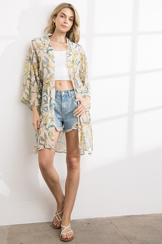 Island Girl Kimono *Final Sale*