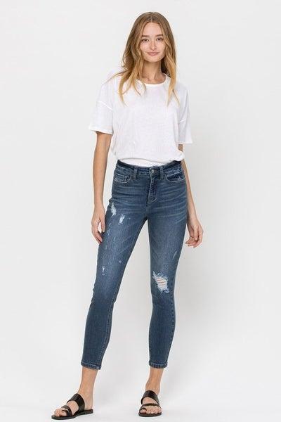Haylie High Rise Dark Wash Jeans