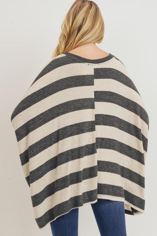 Grey Daze Stripe Sweater *Final Sale*