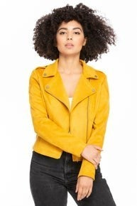 Slay In Faux Suede Jacket (Color Options Available)