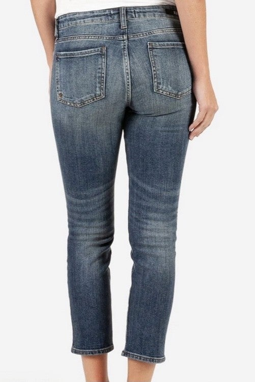 Catherine Ankle Straight Leg Jean *Final Sale*
