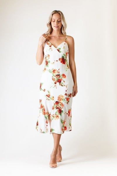 Pretty as a Peach Dress