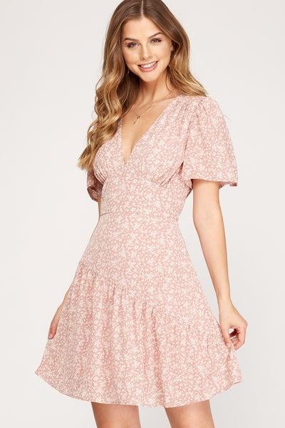Remember When Ruffle Dress