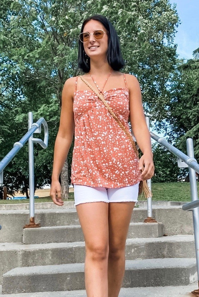 Cut It Out Cami Top