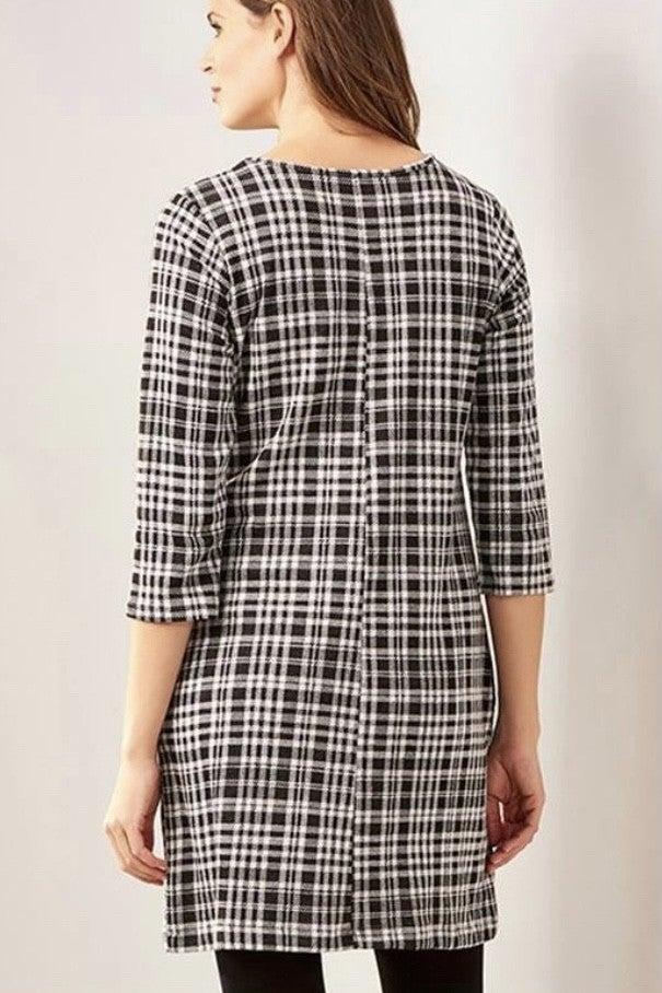 Shirley Plaid Jersey Dress *Final Sale*