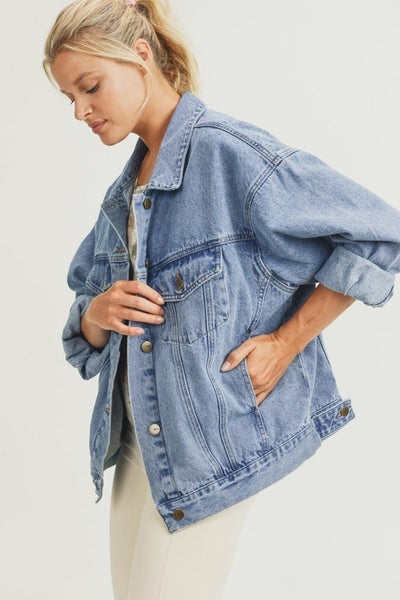 The Popular Girl Denim Jacket