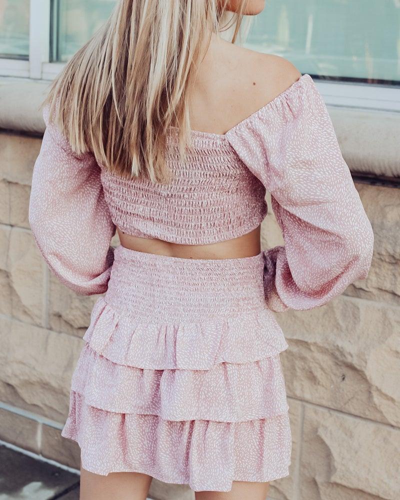 Making Me Blush Skirt