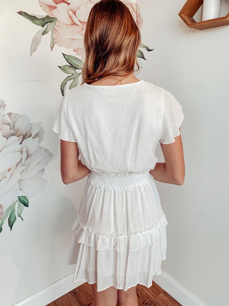 Sweet Nostalgia White Dress