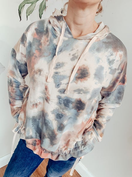 Up in the Sky Tie Dye Hoodie