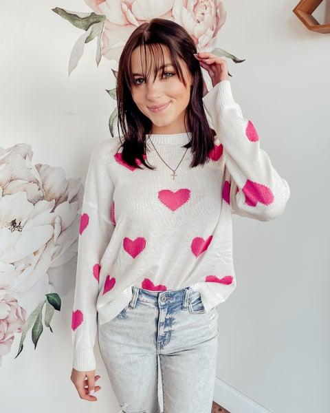 Heart Eyes Sweater
