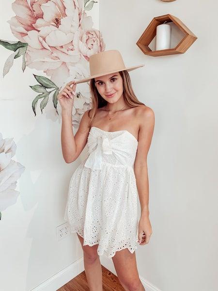 Southern Sass Strapless Dress