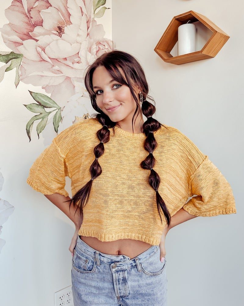 Mellow Yellow Sweater