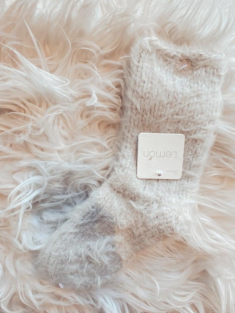 Wool blend Boot Sherpa Sock
