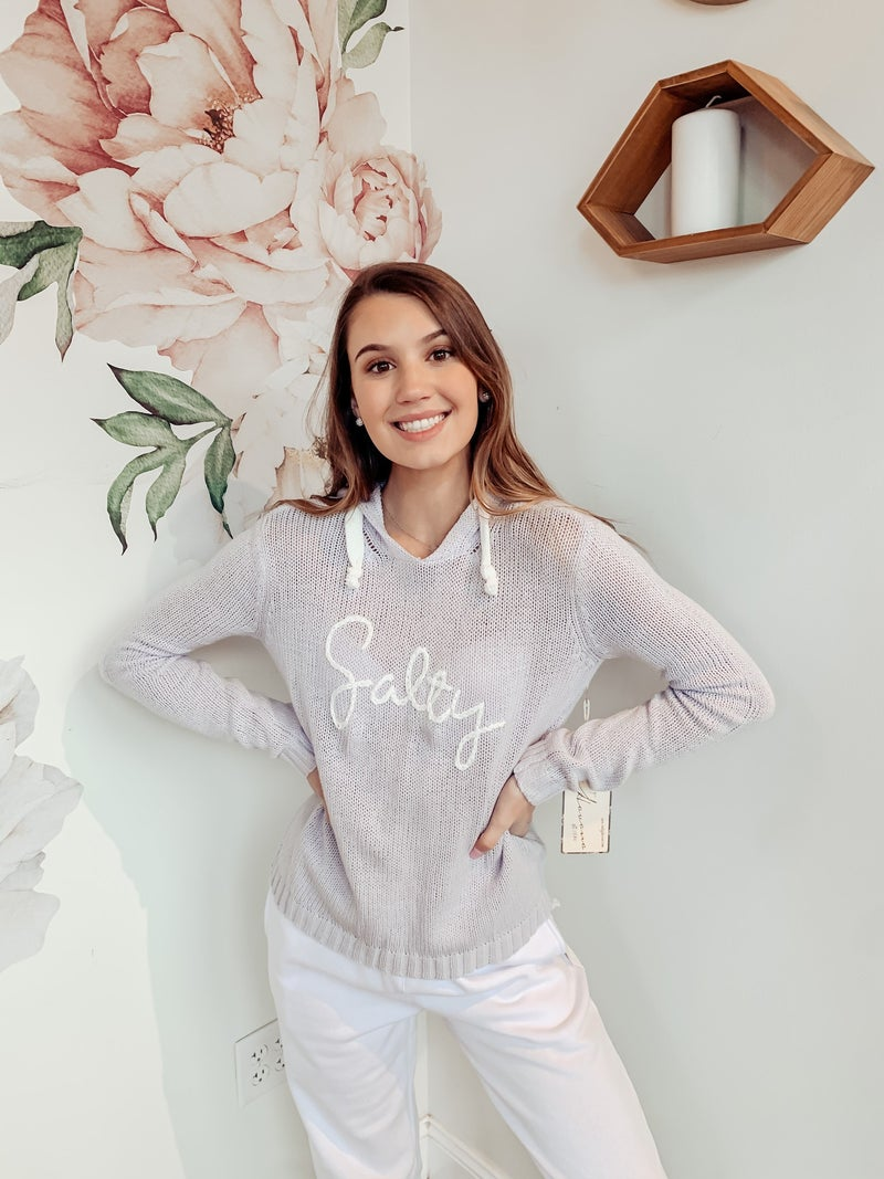 Feeling Salty Hoodie Sweater