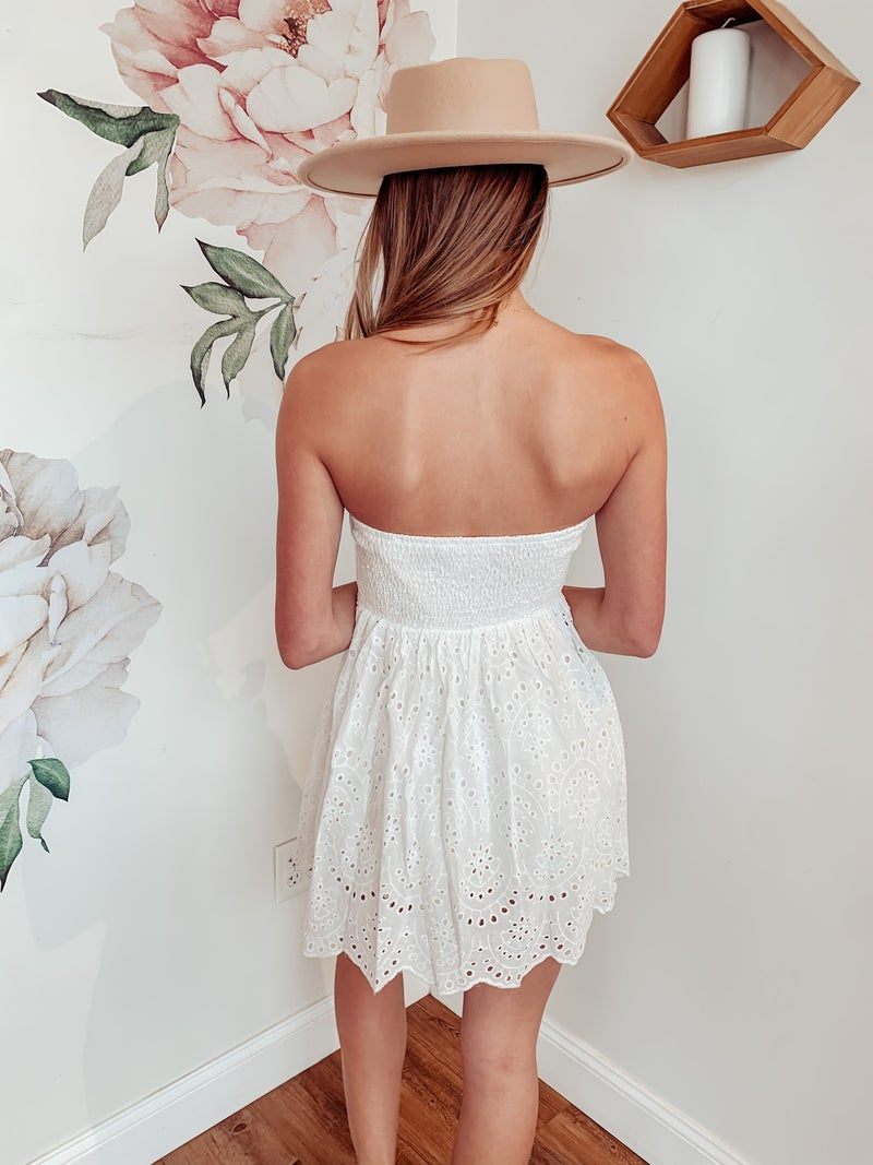 Southern Sass Strapless Dress