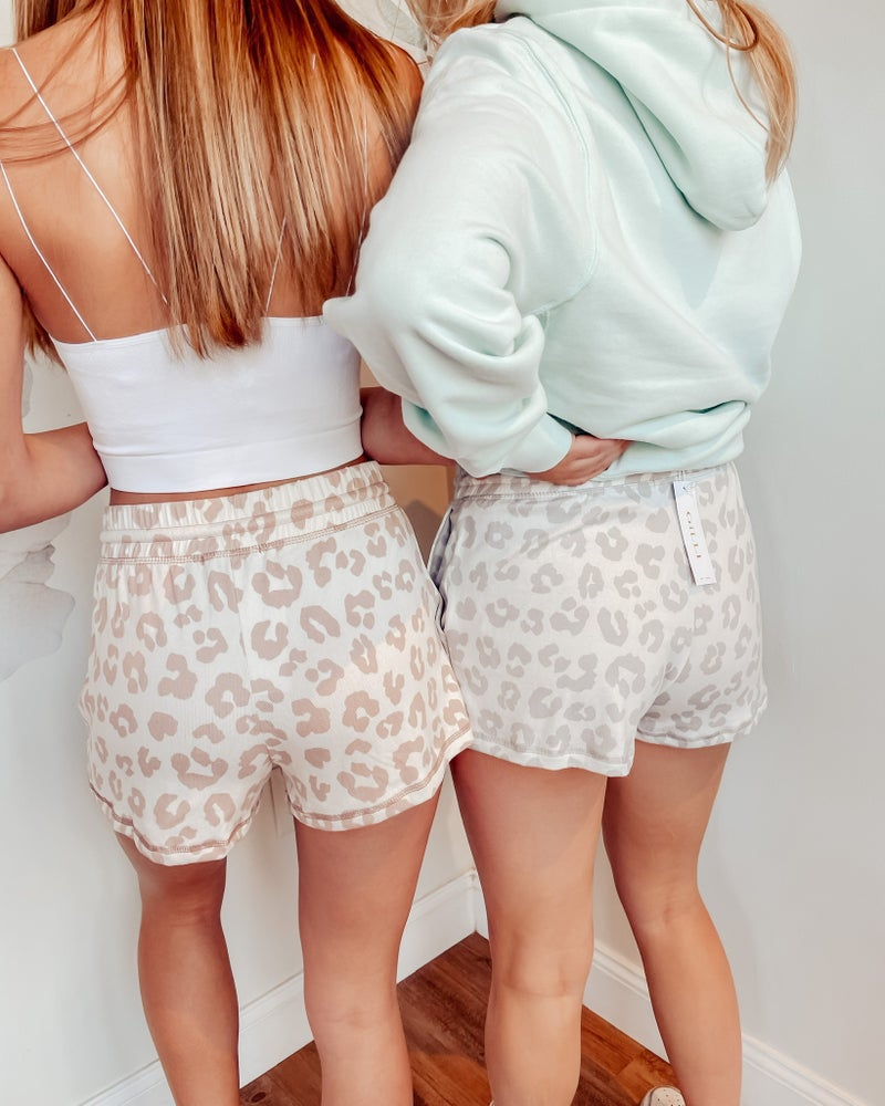 Seeing Spots Drawstring Shorts