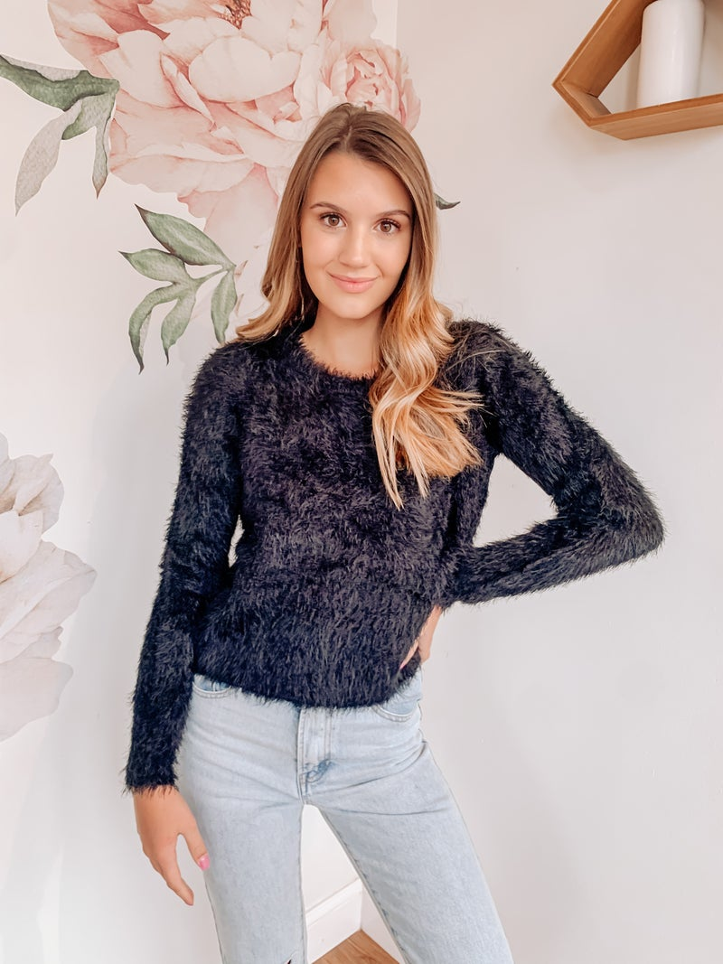 Kari Furry Sweater