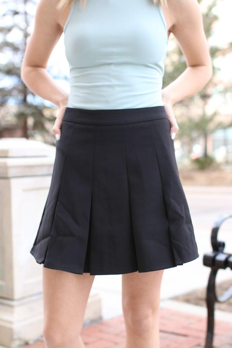 Lucky Lady Pleated Skirt