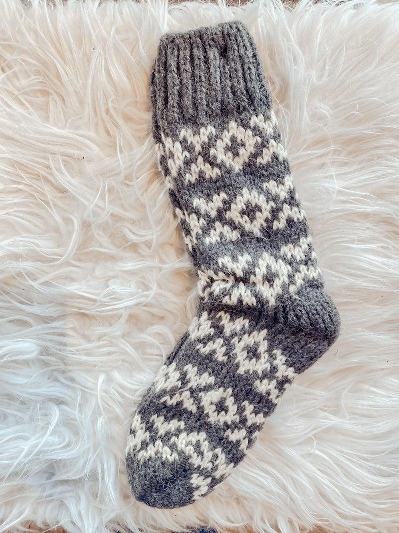 Sleighride Cabin Socks