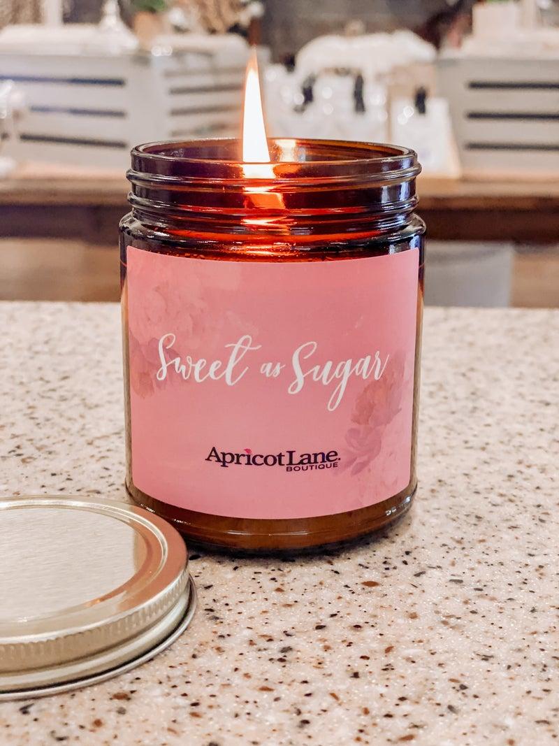 Sweet as Sugar Candle