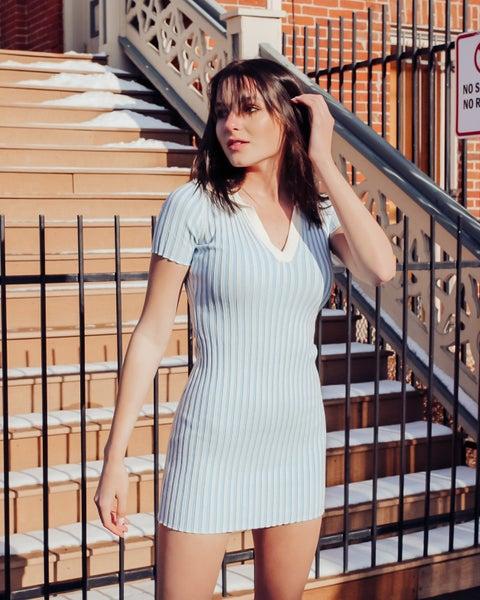 Rib Tone Dress