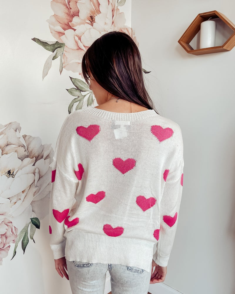 Heart Eyes Sweater