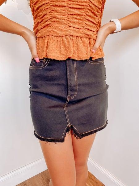 Black Cat Skirt