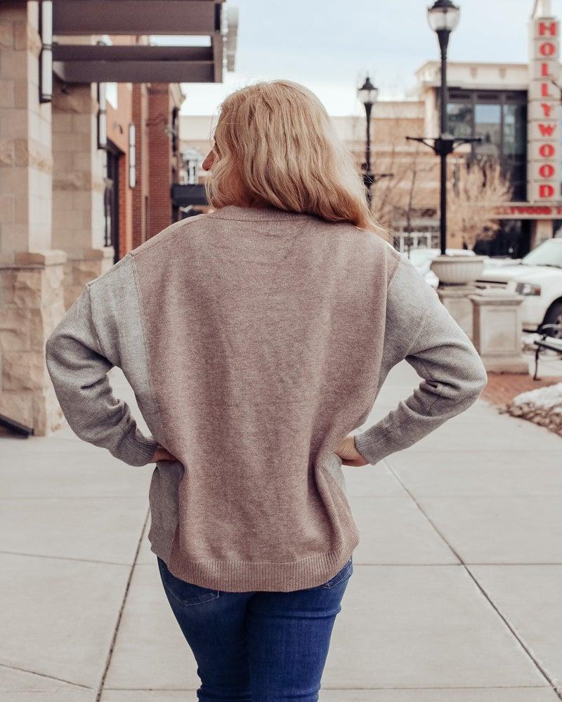 Blocks of Neutral Sweater