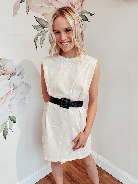 It's My Call Ivory Dress