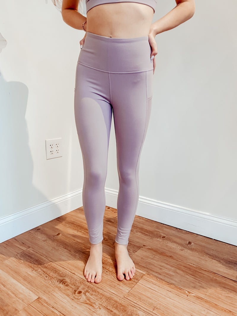 Lavender Nirvana Leggings