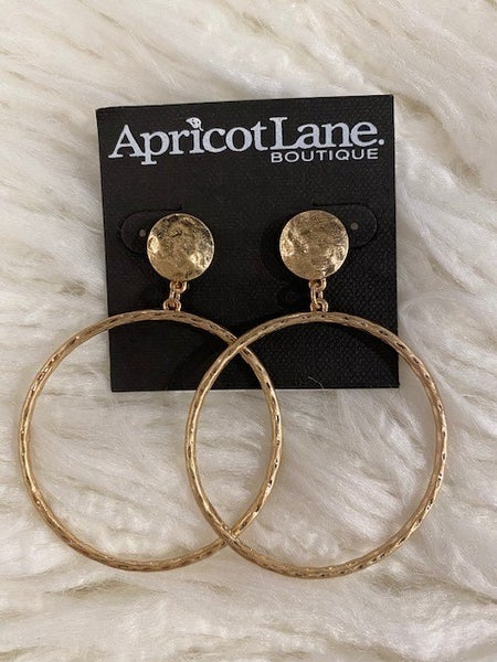 Joy Drop Hoop Earrings