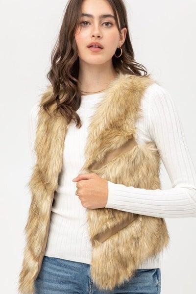 Mave Faux Fur Vest