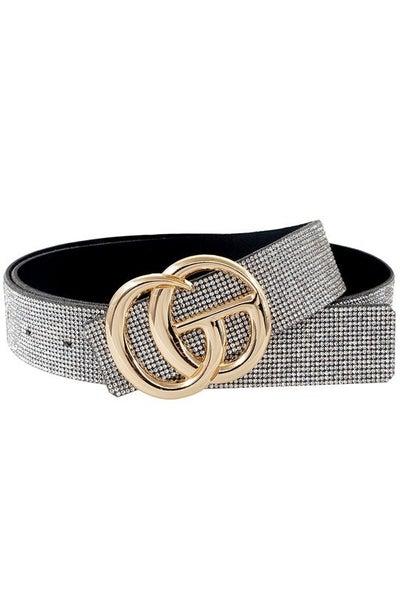 Chrystal Double G Belt