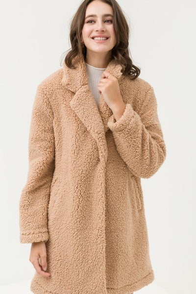 Teddy Bear Sherpa Jacket 40% OFF!!