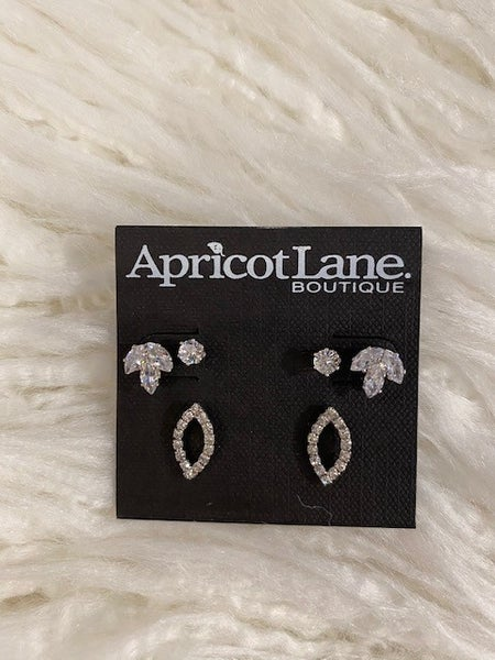 Lyn Crystal Studded Earring Set