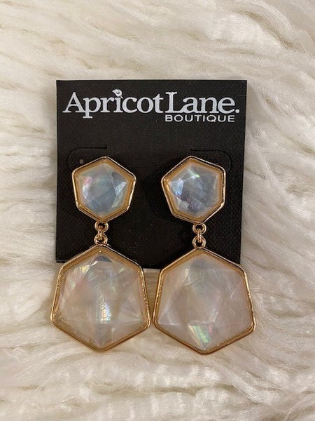 Alli Geo Dangle Earrings